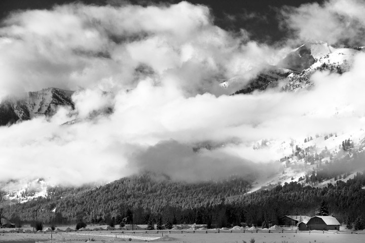 tetons, grand teton national park, winter, storm, , photo