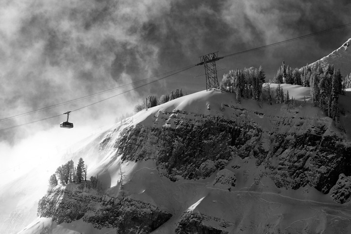 gondola, jackson hole ski resort, ski, snow, photo