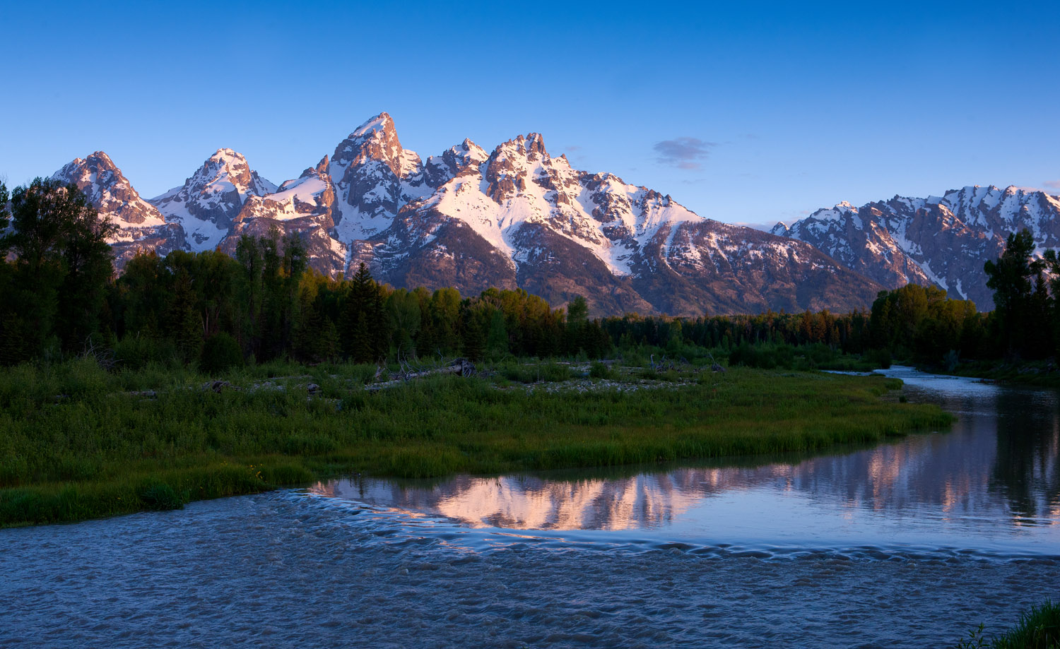 tetons, schwabacher's, landing, beaver, , photo