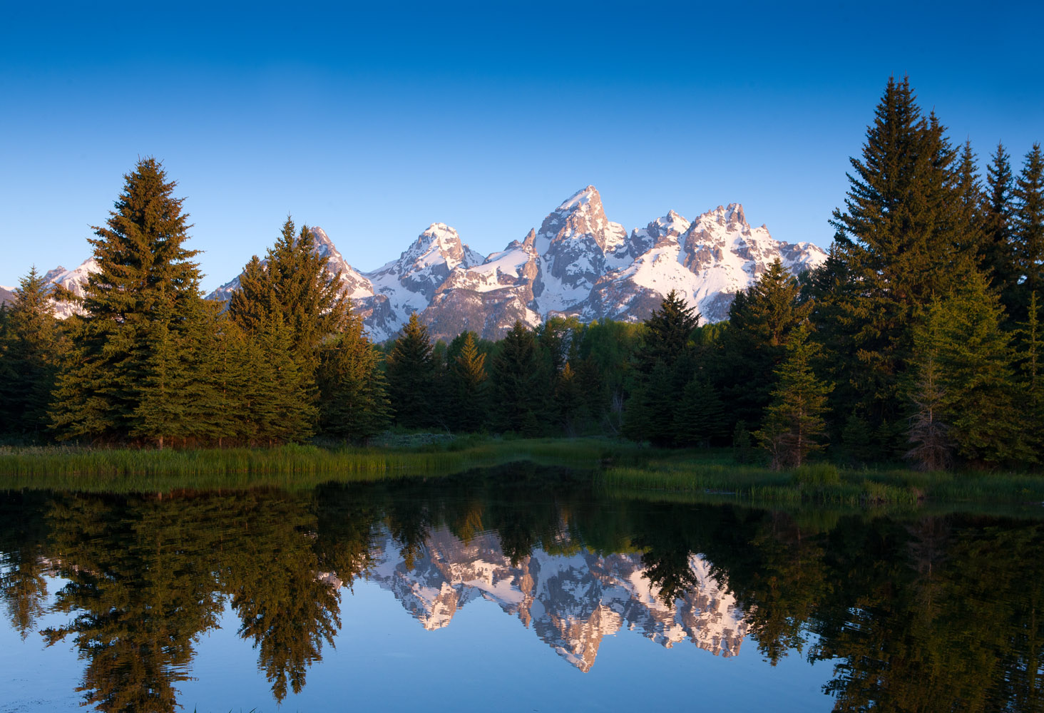tetons, schwabacher's, landing, beaver, sunrise, photo